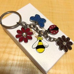 NIB Coach Bumblebee Keychain